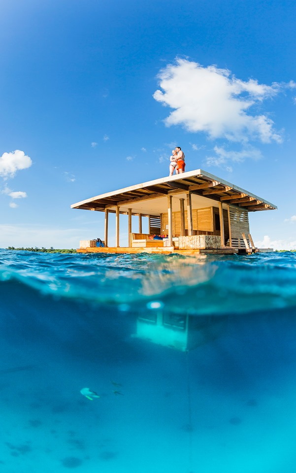 Honeymoon in Pemba's Underwater Room